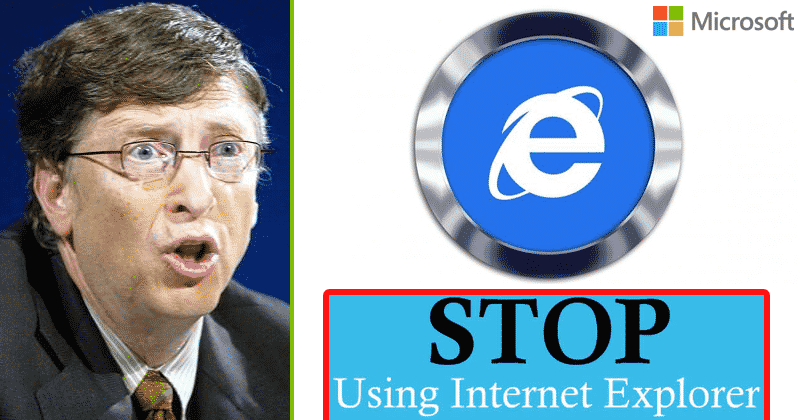 Satvat Infosol Stop using internet explorer